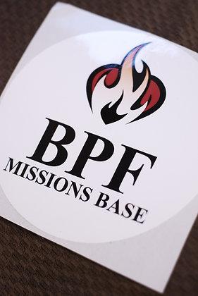 BPF Decal