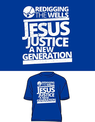 Jesus, Justice, A New Generation T-Shirt