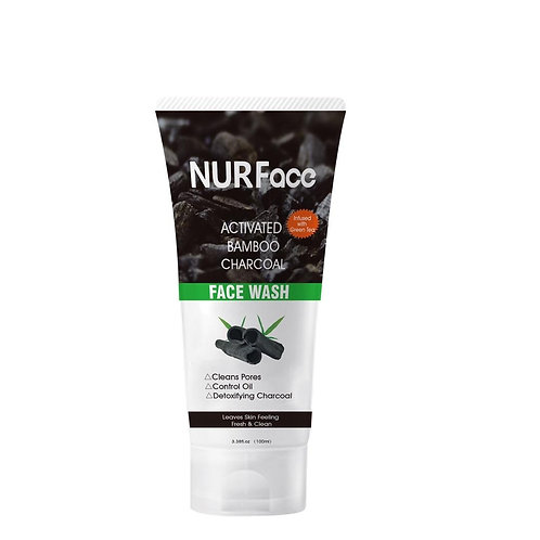 Activated Bamboo Charcoal Face Wash