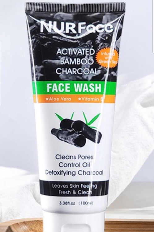 ACTIVATED CHARCOAL BAMBOO FACE WASH
