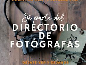 Convocatoria abierta para participar del Nuevo Directorio fotográfico MEM de Photolab PMA