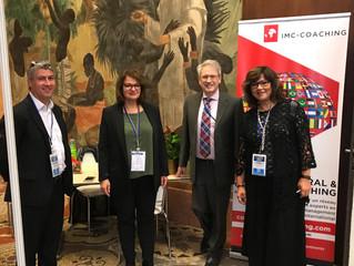 4 coachs IMC en action au salon 24H de l'international