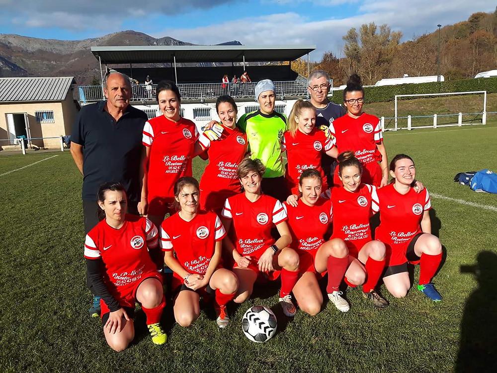 Photo équipe féminines  Saison 2017-2018 - FCPVG