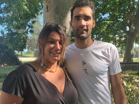 Un champion olympique séjourne au Mas de la Vigne