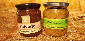 Tapenade - Olivade - Moulin du Mont Ramu