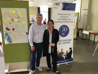 Des représentants IMC Coaching à la journée ICF Ile de France