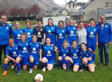 Victoire des Féminines 3 à 1 !