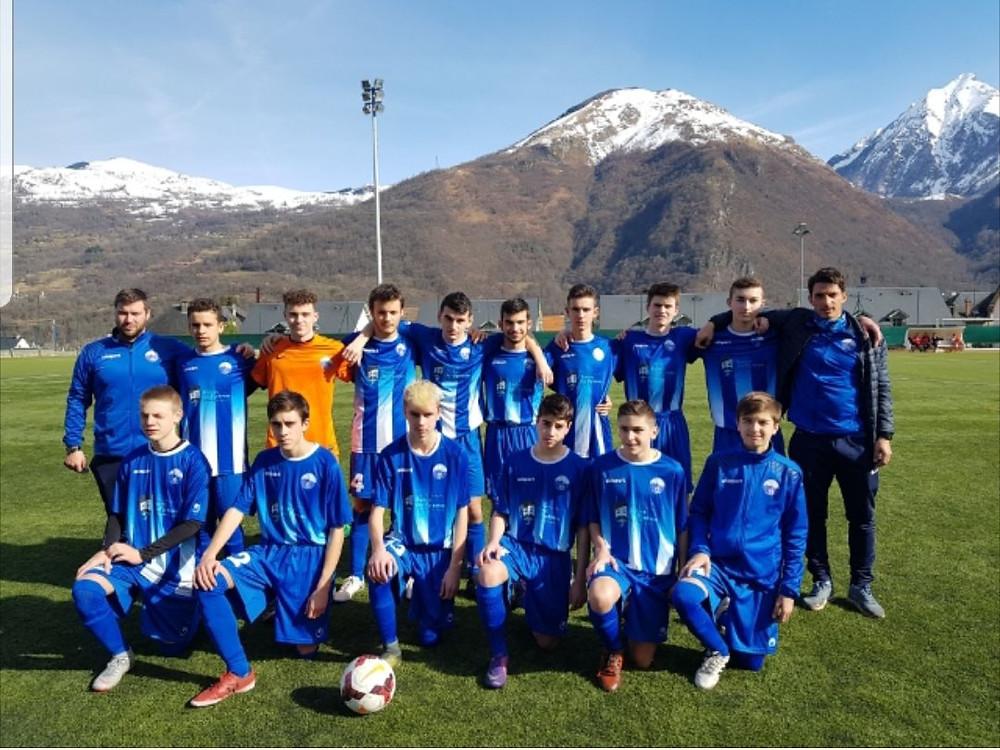 Match des U17 contre Juillan