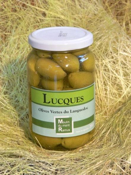Olives Lucques Pasteurisées 200gr