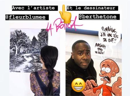 """Fleur Blume participe à l'exposition """"Forêts en captivité"""" avec Ouafa Mameche à la Botica"""