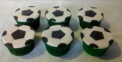 Cupcakes Bola de Futebol