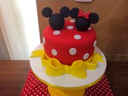 Bolo Decorado Mickey