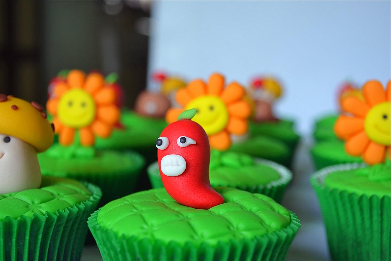 Cupcakes 3D - Plants vs Zombies