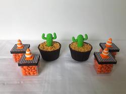 Cupcakes - Carros