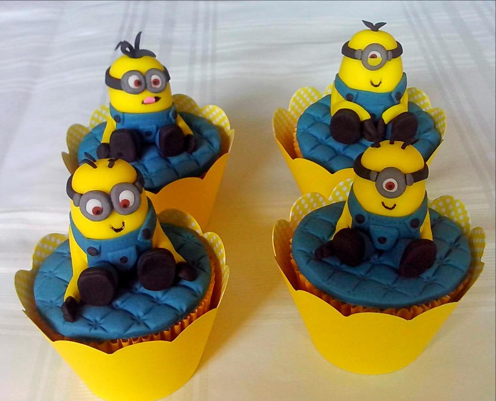 Cupcakes 3D - Minions