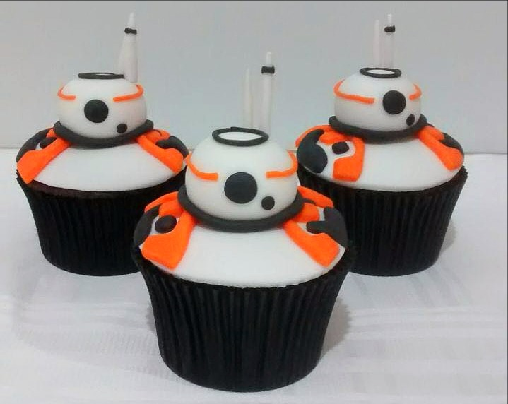 Cupcakes 3D - Star Wars