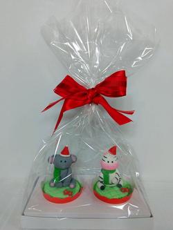 Cupcakes - Bichinhos do Zoo Natalinos