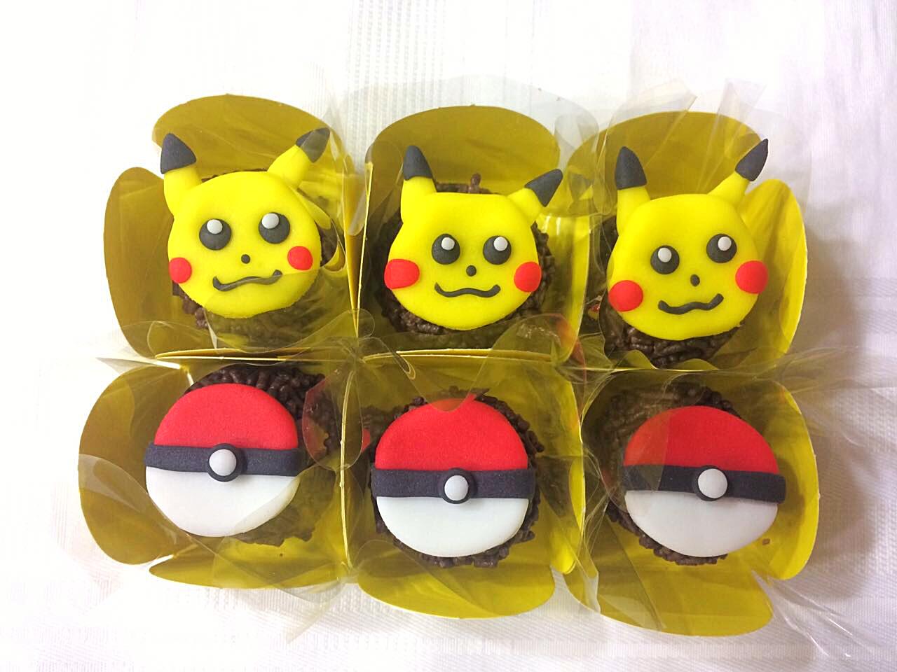 Docinhos Decorados - Pikachu