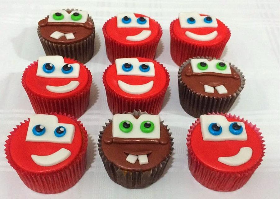 Cupcakes Carros