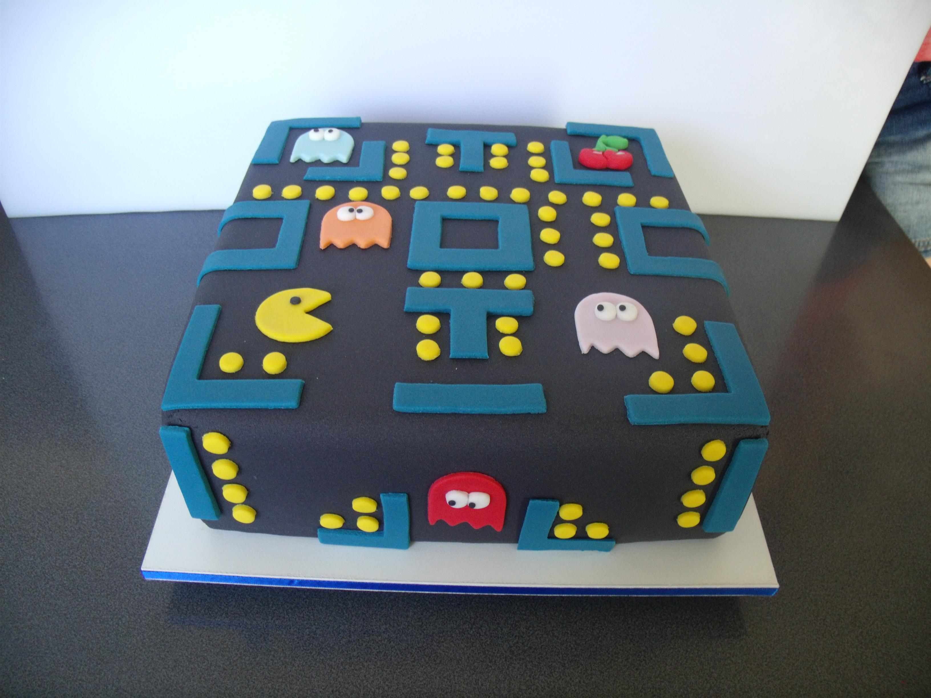 Bolo Decorado Pac-Man