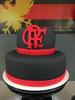 Bolo Decorado Flamengo
