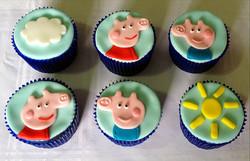 Cupcakes Peppa Pig