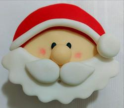 Cupcake Natalino - Papai Noel