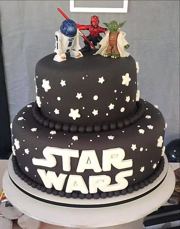 Bolo Decorado Star Wars