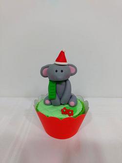 Cupcake - Bichinho do Zoo Natalino