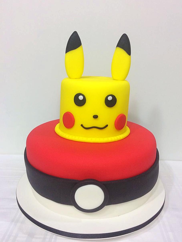 Bolo Decorado Pikachu