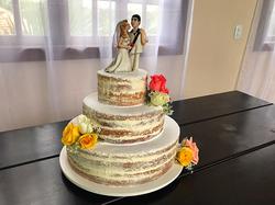 Bolo Decorado - Wedding Cake