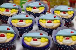 Cupcakes Palhacinhos