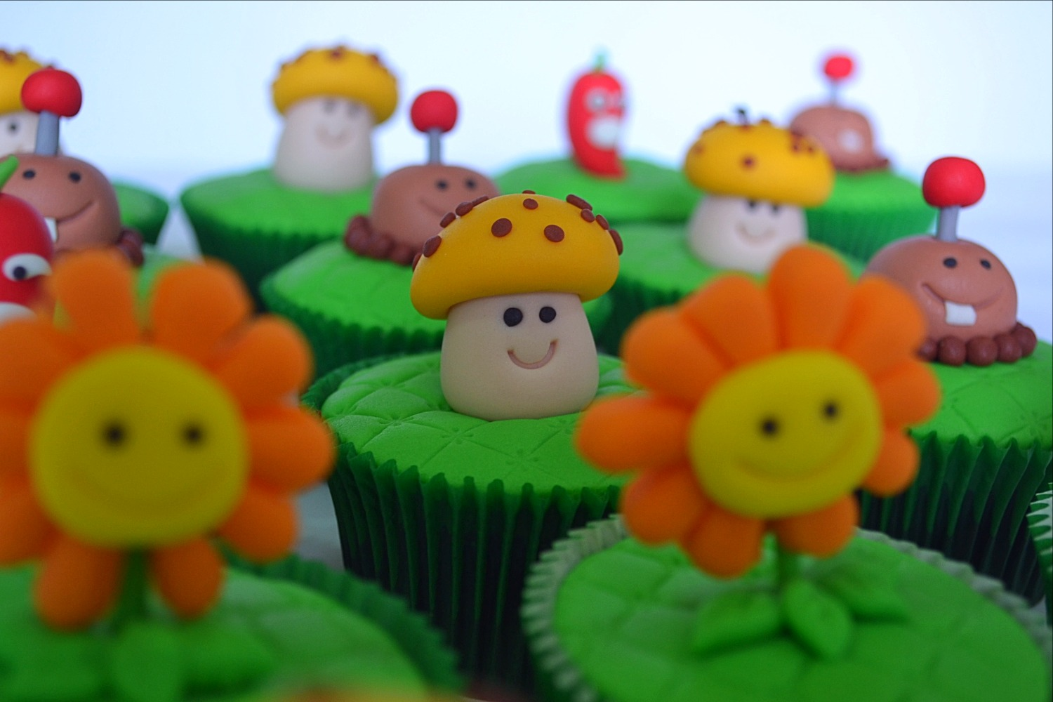 Cupcakes Plants vs Zombies