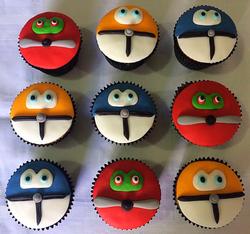 Cupcakes - Aviões