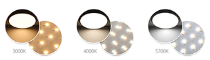 Color-Changeable-LED-Oyster-Ceiling-Ligh