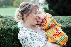 Mother & Daughter at Wicksteed Park