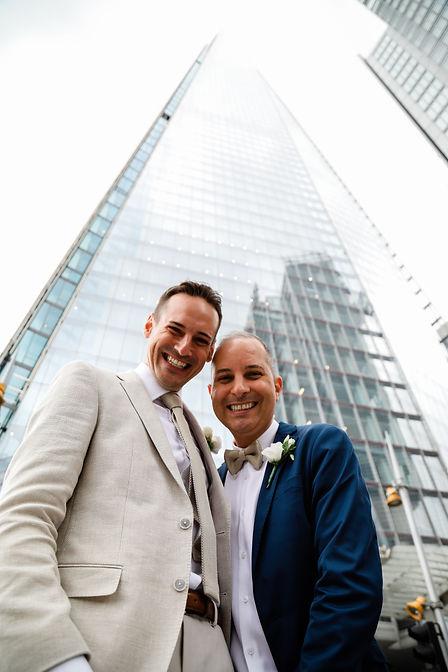 Lewis & Robert married in London