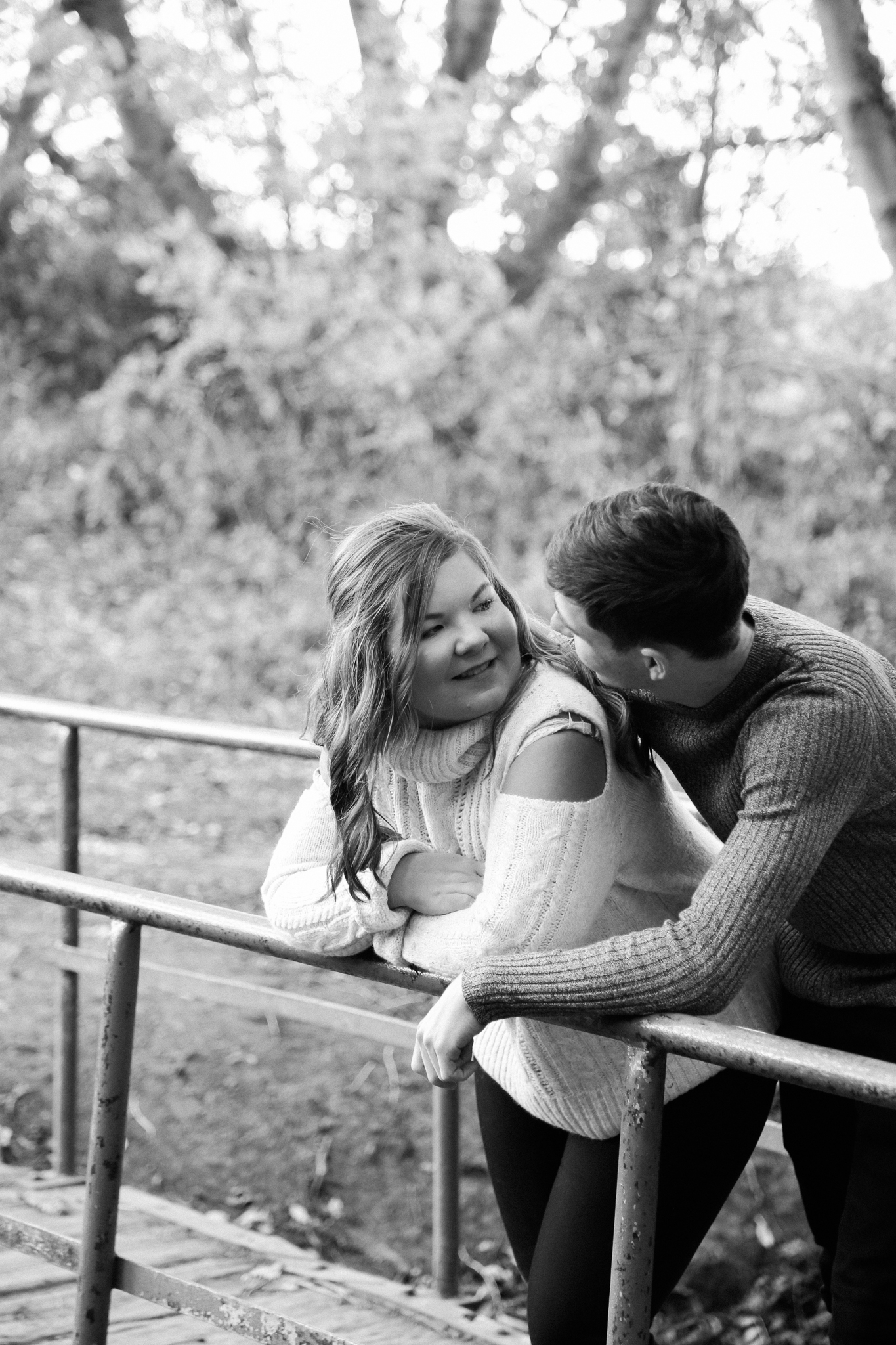 Couple session at East Carlton Park
