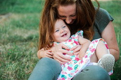 Family session in Northamptonshire