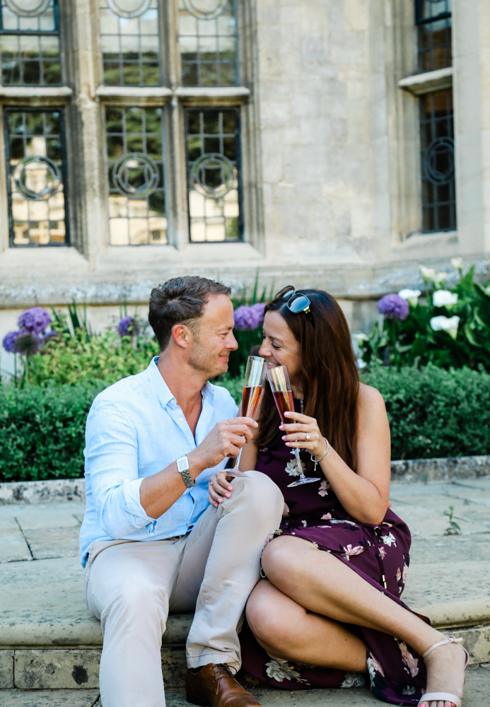 Engagement at Rushton Hall