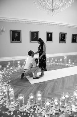 Engagement at Rushton Hall