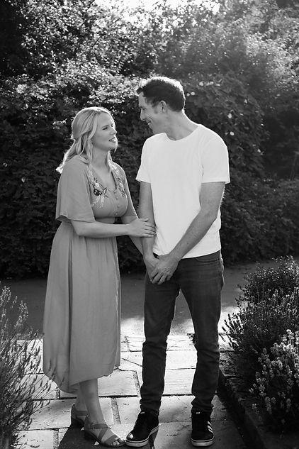 Engagement session at Welland Park, Market Harborough