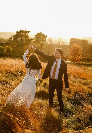 Wedding at the Peak District