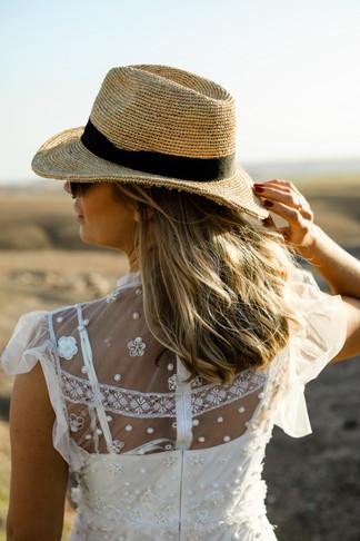 Sophie wearing Eliza Jane Howell in Marrakech