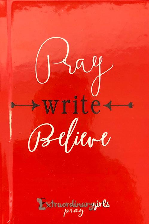 Pray Write Believe Journal