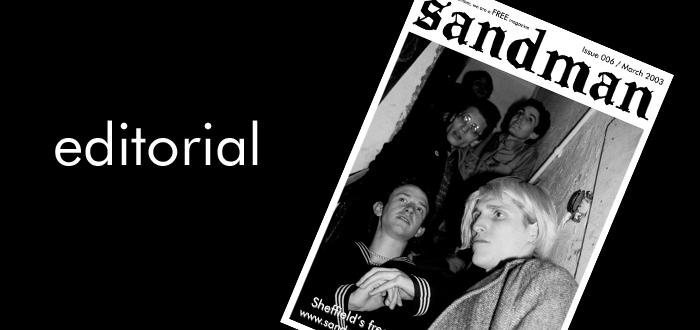 Sandman Sheffield Issue 006 Editoria