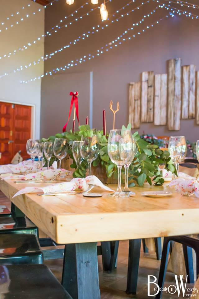 Rustic Rose Reception Hall 9
