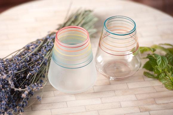Full Spectrum Goblets, Set of Two