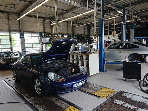 SN Heritage Automobile GmbH Werkstatt