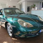 Porsche 911 996 C2 coupe 2001 Green  (1)